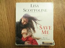 Audiobook cd preowned LISA SCOTTOLINE unabridged SAVE ME free shipping