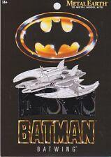 Metal Earth BATMAN BATWING 3D Laser Cut Steel Model Kit ~ KNOCKOUT CRAFTS