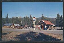 MT Cook STD CHROME 1950's CHEVRON GAS STATION & SKYLINE DUDE RANCH Yellowstone