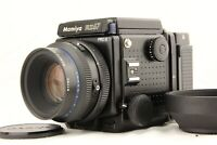 【 NEAR MINT+++ 】 MAMIYA RZ67 Pro II + SEKOR Z 110mm f/2.8 W + 120Back from JAPAN