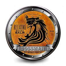 NEW BOSSMAN RELAXING BEARD BALM STAGECOACH SCENT 60ML Beard Moustache Shave