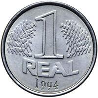 Brasilien - Münze - 1 Real 1994 - Kopf der Liberty