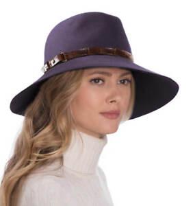 Authentic NWT Eric Javits Designer NYC Women's Hat - Fanny in Plum