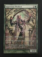 MTG magic Extended Art *IMPERIOUS PERFECT* DCI Champs Promo Green Elf Warrior