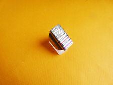 Bague Touareg  métal argenté taille 65 pour homme ou femme
