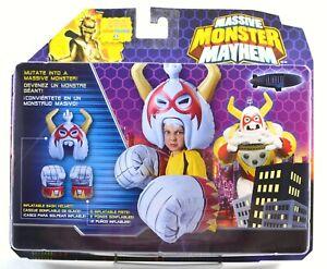 Massive Monster Mayhem Set Inflatable Helmet and Fists MISB White