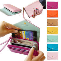 Envelope Wallet Phone Case Card Holder Purse For IPHONE 5/4S GALAXY S2/S3/S4