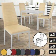 Sillas de comedor 2 4 6 8 set silla de cocina silla silla de comedor salón sillas