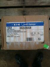 Eatoncutler Hammer Dg323ugb 100 Amp Safety Switch