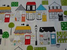 Harlequin Curtain Fabric ~  'Boutique Boulevard' 6.6 METRES  Black/White/Multi