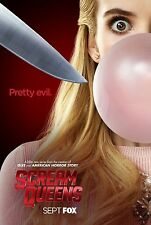 SCREAM QUEENS MANIFESTO HORROR JAMIE LEE CURTIS EMMA ROBERTS LEA MICHELE