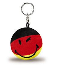 Nici Smiley Schlüsselanhänger Bean Bag Deutschland schwarz rot gold