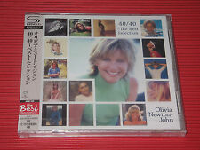 OLIVIA NEWTON JOHN 40/40 THE BEST SELECTION  JAPAN 2 SHM CD
