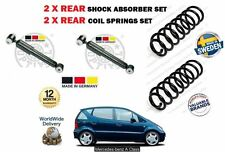 FOR MERCEDES A140 A160 A190 A210 A170 1997  2X REAR SHOCK ABSORBER + COIL SPRING