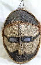 Masque de joncs Iatmul Papouasie / Gable mask Middle sepik