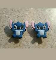 Lot 2 Lilo & Stitch shoe charms for Crocs shoes. Other uses Craft, Scrapbook