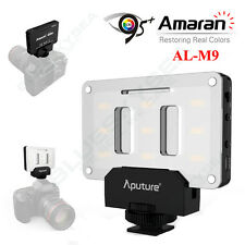 Aputure AL-M9 Amaran LED Mini Light on Camera Video Lights 5500K For Canon Nikon