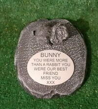 Rabbit Large Pet Memorial/headstone/stone/grave marker/memorial rb2