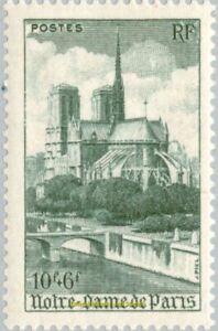 EBS France 1947 - Tourism - Notre-Dame de Paris - YT 776 MNH**