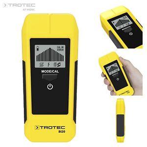 TROTEC Wallscanner BI20 | Ortungsgerät | Leitungssucher | Wanddetektor | Kabel