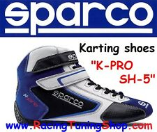 SCARPE KART SPARCO K-PRO SH-5 SIZE EUR 48 - KARTING SHOES BLUE  SPARCO KARTING
