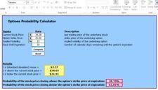 Options Probability Calculator