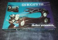 maquette HELLER HUMBROL BUGATTI T50 1/24 NEUVE sous blister - N° 80706