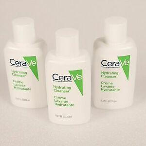 3 x 20ml CeraVe Hydrating Cleanser - TRAVEL/SAMPLE
