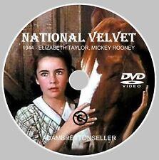 National Velvet DVD - (1944) Elizabeth Taylor Mickey Rooney CLASSIC DVD