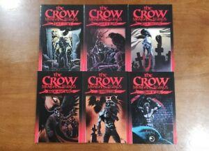 The Crow Midnight Legends Vol. 1 2 3 4 5 6 SET TPB OOP IDW Comics O'Barr, Maleev