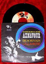 Single Charles Aznavour Desormais La Lumiere