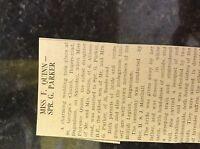 M3-8a 1941 dagenham. ww2 article wedding florence quinn g parker