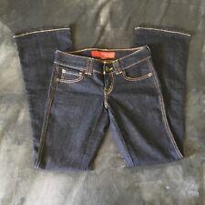 Guess Womens Jeans Size 28 Denim Stretch Boot Cut Low Rise 81 Dark W Inseam 31