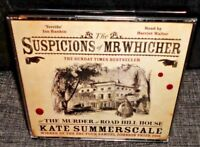 The Suspicions Of Mr Whicher or The Murder At Road Hill House (AUCDIO BOOK CD)