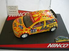 NINCO FIAT PUNTO RALLY COSTA BRAVA OFFICIAL RALLY DRIVER EDICION PILOTOS