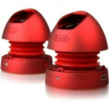 X-mini MAX XAM9-R Portable Capsule Speaker v1.1, Stereo, Red