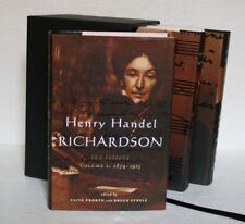 Henry Handel Richardson: The Letters. Volume 1, 2 & 3 (2000) Box Set. Steele