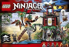 Lego 70604 Ninjago Masters of Spinjitzu Tiger Widow Island Set Sealed New