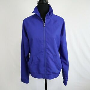 Under Armour Women's Blue Semi-Fitted Long Sleeve Pocketed Full Zip Jacket Sz M
