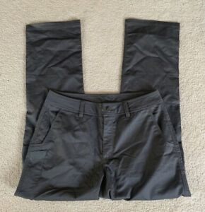 """New! SITKA Gear Back Forty Pants, Dark Gray/Lead, Pockets, 32"""" Inseam, Size 34R"""