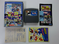 VIRTUA RACING V.R. + Registration.Card Sega Megadrive JAPAN