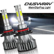 9005 LED Headlight 6000K Super Bright 2x High Beam bulbs High Power Car lights