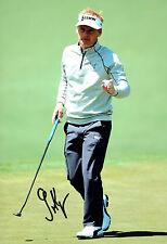 Soren KJELDSEN Augusta Masters 12x8 Golf Photo Signed Autograph AFTAL COA
