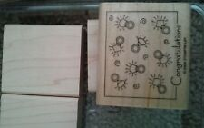 Stampin Up Fabulous Four Set 4 Stamps