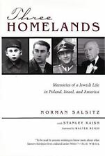 Three Homelands: Memories of a Jewish Life in Poland, Israel, and America (Re...
