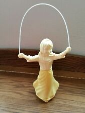 Vintage Avon Sweet Honesty Cologne Decanter Of Girl Jumping Rope