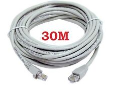 30m Cat5e Rj45 Ethernet LAN Network Patch Lead Cable