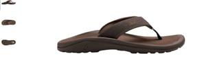 Olukai Ohana Dark Java/Ray Sandal Flip Flop Men's US sizes 7-18 NEW!!!