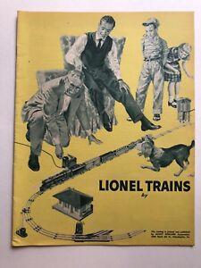 1955 Lionel Model Electric Train Catalog Gauge O 24 Pages -  Mint Condition!  M