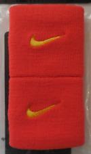 Nike Dri-Fit Tennis Wristbands 2.0 Color Team Orange/University Gold - 1 Pair